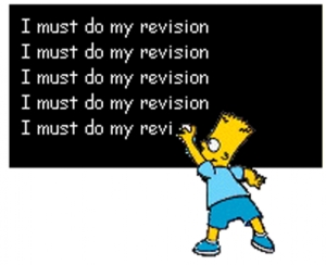 revision - simpsons