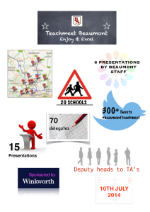 teachmeet - jo