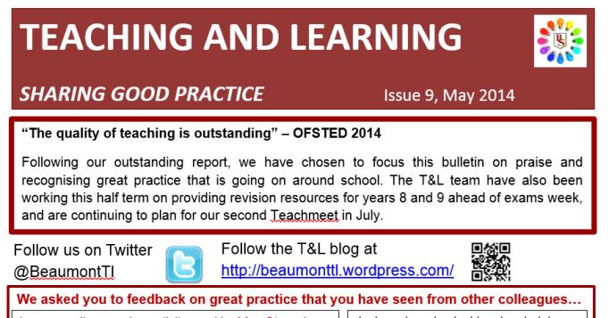 T&L newsletter0514