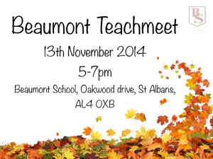 TeachMeet 1114