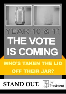Be Persistent vote