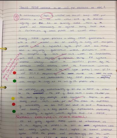 dot marking 1